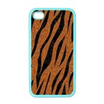 SKIN3 BLACK MARBLE & RUSTED METAL Apple iPhone 4 Case (Color) Front