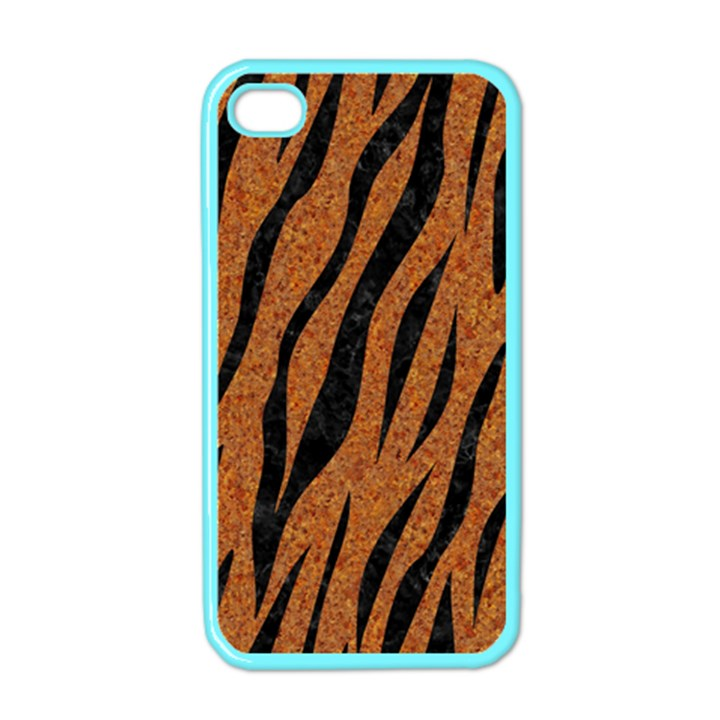 SKIN3 BLACK MARBLE & RUSTED METAL Apple iPhone 4 Case (Color)