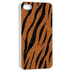 Skin3 Black Marble & Rusted Metal Apple Iphone 4/4s Seamless Case (white)