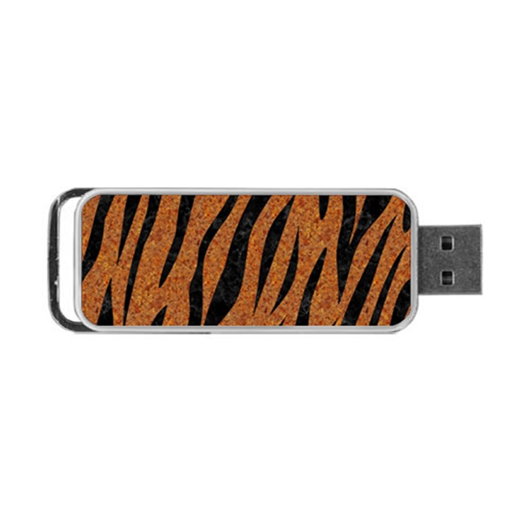 SKIN3 BLACK MARBLE & RUSTED METAL Portable USB Flash (Two Sides)