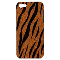 Skin3 Black Marble & Rusted Metal Apple Iphone 5 Hardshell Case by trendistuff