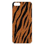 SKIN3 BLACK MARBLE & RUSTED METAL Apple iPhone 5 Seamless Case (White) Front