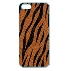 SKIN3 BLACK MARBLE & RUSTED METAL Apple Seamless iPhone 5 Case (Color)