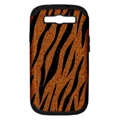 SKIN3 BLACK MARBLE & RUSTED METAL Samsung Galaxy S III Hardshell Case (PC+Silicone)