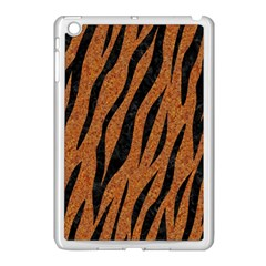 Skin3 Black Marble & Rusted Metal Apple Ipad Mini Case (white) by trendistuff