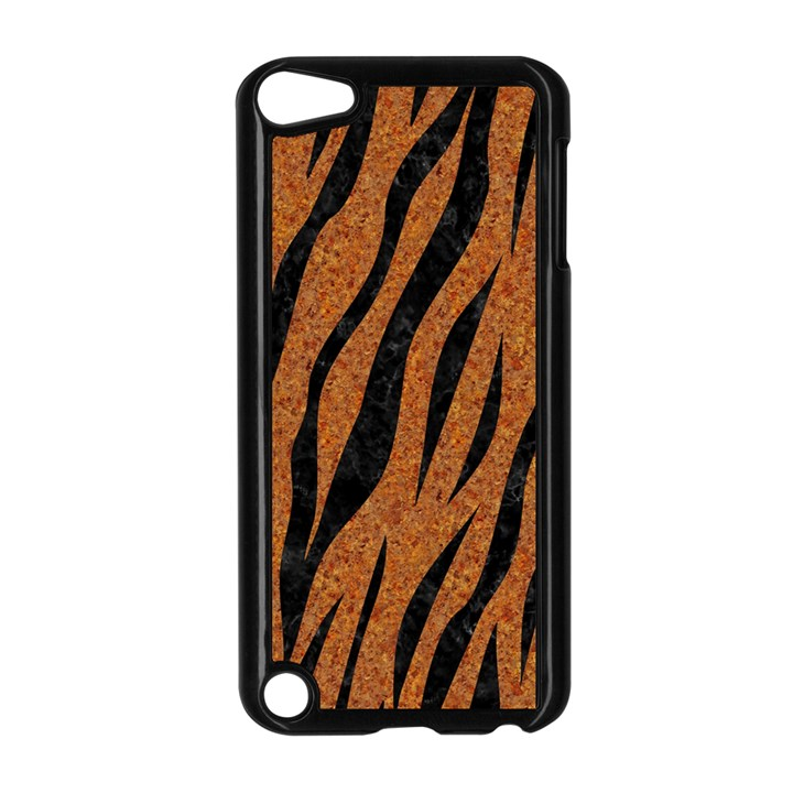 SKIN3 BLACK MARBLE & RUSTED METAL Apple iPod Touch 5 Case (Black)