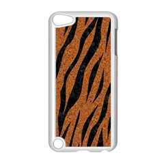 SKIN3 BLACK MARBLE & RUSTED METAL Apple iPod Touch 5 Case (White)