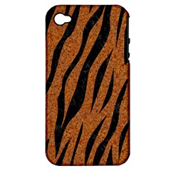 SKIN3 BLACK MARBLE & RUSTED METAL Apple iPhone 4/4S Hardshell Case (PC+Silicone)