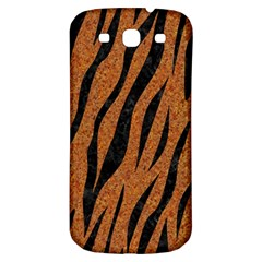 SKIN3 BLACK MARBLE & RUSTED METAL Samsung Galaxy S3 S III Classic Hardshell Back Case