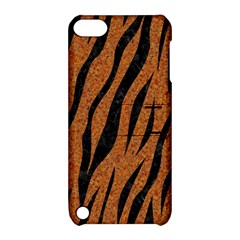 SKIN3 BLACK MARBLE & RUSTED METAL Apple iPod Touch 5 Hardshell Case with Stand