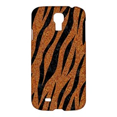 SKIN3 BLACK MARBLE & RUSTED METAL Samsung Galaxy S4 I9500/I9505 Hardshell Case