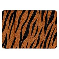 Skin3 Black Marble & Rusted Metal Samsung Galaxy Tab 8 9  P7300 Flip Case by trendistuff