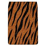 SKIN3 BLACK MARBLE & RUSTED METAL Flap Covers (L)  Front