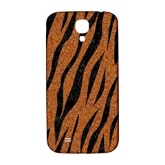 SKIN3 BLACK MARBLE & RUSTED METAL Samsung Galaxy S4 I9500/I9505  Hardshell Back Case