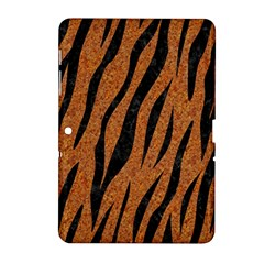 SKIN3 BLACK MARBLE & RUSTED METAL Samsung Galaxy Tab 2 (10.1 ) P5100 Hardshell Case