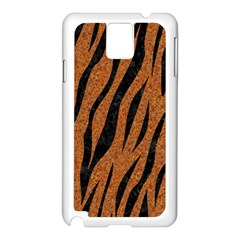 SKIN3 BLACK MARBLE & RUSTED METAL Samsung Galaxy Note 3 N9005 Case (White)