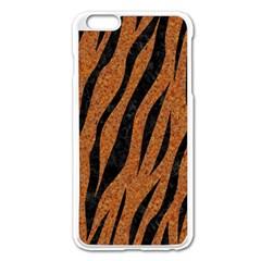 Skin3 Black Marble & Rusted Metal Apple Iphone 6 Plus/6s Plus Enamel White Case by trendistuff
