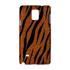 SKIN3 BLACK MARBLE & RUSTED METAL Samsung Galaxy Note 4 Hardshell Case