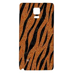 SKIN3 BLACK MARBLE & RUSTED METAL Galaxy Note 4 Back Case