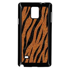 SKIN3 BLACK MARBLE & RUSTED METAL Samsung Galaxy Note 4 Case (Black)