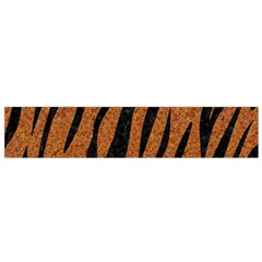 SKIN3 BLACK MARBLE & RUSTED METAL Flano Scarf (Small)