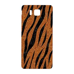 SKIN3 BLACK MARBLE & RUSTED METAL Samsung Galaxy Alpha Hardshell Back Case