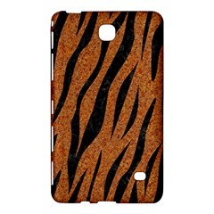 SKIN3 BLACK MARBLE & RUSTED METAL Samsung Galaxy Tab 4 (7 ) Hardshell Case