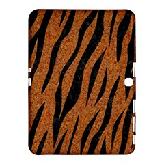 SKIN3 BLACK MARBLE & RUSTED METAL Samsung Galaxy Tab 4 (10.1 ) Hardshell Case