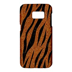 SKIN3 BLACK MARBLE & RUSTED METAL Samsung Galaxy S7 Hardshell Case