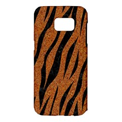 SKIN3 BLACK MARBLE & RUSTED METAL Samsung Galaxy S7 Edge Hardshell Case