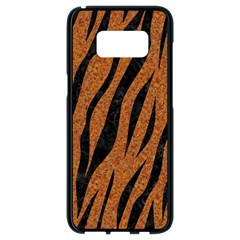 SKIN3 BLACK MARBLE & RUSTED METAL Samsung Galaxy S8 Black Seamless Case