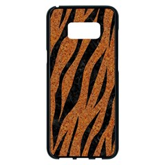SKIN3 BLACK MARBLE & RUSTED METAL Samsung Galaxy S8 Plus Black Seamless Case