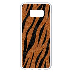 SKIN3 BLACK MARBLE & RUSTED METAL Samsung Galaxy S8 Plus White Seamless Case