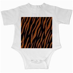 Skin3 Black Marble & Rusted Metal (r) Infant Creepers by trendistuff
