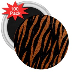 Skin3 Black Marble & Rusted Metal (r) 3  Magnets (100 Pack) by trendistuff