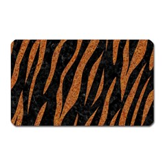 Skin3 Black Marble & Rusted Metal (r) Magnet (rectangular) by trendistuff