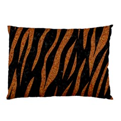 Skin3 Black Marble & Rusted Metal (r) Pillow Case by trendistuff