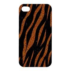 Skin3 Black Marble & Rusted Metal (r) Apple Iphone 4/4s Hardshell Case by trendistuff