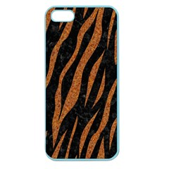 Skin3 Black Marble & Rusted Metal (r) Apple Seamless Iphone 5 Case (color) by trendistuff
