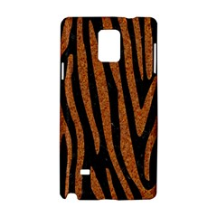 Skin4 Black Marble & Rusted Metal Samsung Galaxy Note 4 Hardshell Case by trendistuff