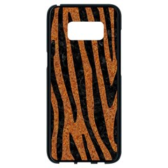 Skin4 Black Marble & Rusted Metal (r) Samsung Galaxy S8 Black Seamless Case by trendistuff