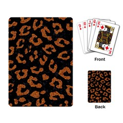 Skin5 Black Marble & Rusted Metal Playing Card by trendistuff