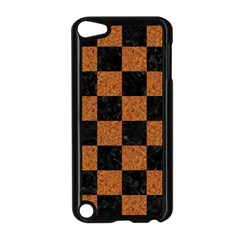 Square1 Black Marble & Rusted Metal Apple Ipod Touch 5 Case (black) by trendistuff