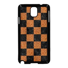 Square1 Black Marble & Rusted Metal Samsung Galaxy Note 3 Neo Hardshell Case (black) by trendistuff