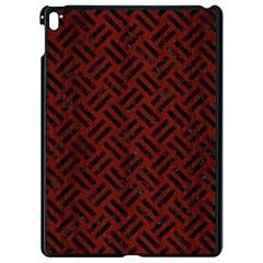 Woven2 Black Marble & Reddish Brown Wood Apple Ipad Pro 9 7   Black Seamless Case by trendistuff