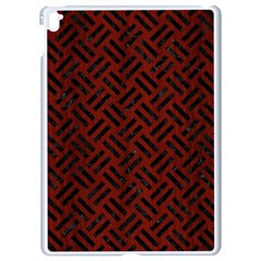 Woven2 Black Marble & Reddish Brown Wood Apple Ipad Pro 9 7   White Seamless Case by trendistuff