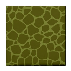 Autumn Animal Print 1 Tile Coasters