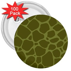 Autumn Animal Print 1 3  Buttons (100 Pack)  by tarastyle