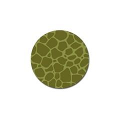Autumn Animal Print 1 Golf Ball Marker by tarastyle