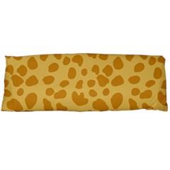 Autumn Animal Print 2 Body Pillow Case (dakimakura) by tarastyle